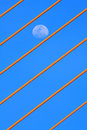 Free Cable And The Moon Royalty Free Stock Image - 14030826