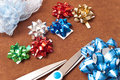 Free Miniature Gift Bows Royalty Free Stock Images - 14031039