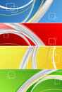 Free Colorful Banners Royalty Free Stock Image - 14039616
