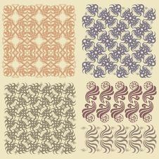 Free There Is A Old Pattern Or Background Royalty Free Stock Photo - 14030755