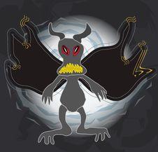 Dark Monster Royalty Free Stock Photos