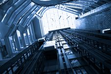 Free Escalator Stock Image - 14031031