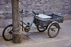 Free Old Tricycle Stock Photo - 14031130