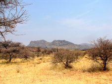 Namibian Landscape Stock Photography