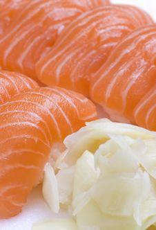Take-away Box Of Sushi Royalty Free Stock Photos