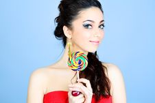 Free Lollipop Stock Photography - 14031862