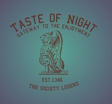 Free Taste Of Night Royalty Free Stock Image - 14032426