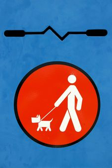 Free Dog Disposal Sign Stock Photos - 14033023