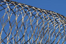 Free Razor Wire Royalty Free Stock Photos - 14033338
