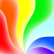 Rainbow Background Royalty Free Stock Photos