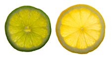 Free Lemon And Lime Slices Stock Images - 14033674