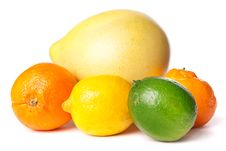 Free Citrus Fruits Royalty Free Stock Image - 14033856