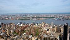 View Of Manhattan Royalty Free Stock Photo