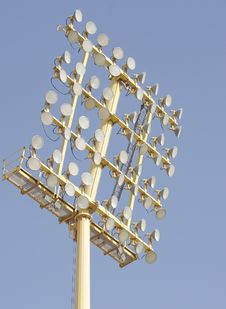 A Close View Of Floodlight Stock Photography