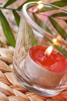 Free Romantic Candles Stock Photo - 14035530