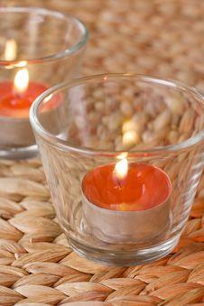 Free Romantic Candles Stock Photo - 14035540