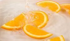 Free Orange Slices Royalty Free Stock Photos - 14035748