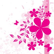 Free Abstract Floral Background Royalty Free Stock Image - 14036996