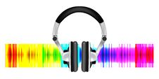 Free Professional Icon Of The Headphones Royalty Free Stock Images - 14037319