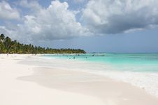 Saona Beach Royalty Free Stock Images