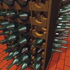 Free Wine Cellar Stock Photo - 14038550