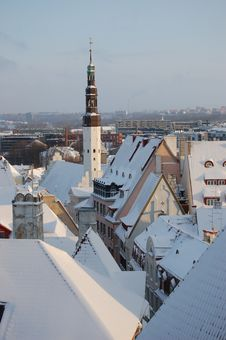 The View On Tallinn. Stock Photography