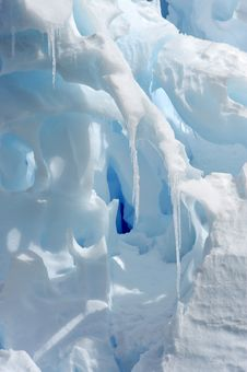 Icicles Background Royalty Free Stock Photo