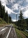 Free Lovely Summer Mountain Scenery Royalty Free Stock Photos - 14041088