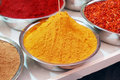 Free Colorful Spices In Bowl Royalty Free Stock Photography - 14041627