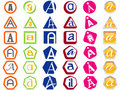 Free Letter A Icons Badges And Tags Royalty Free Stock Photos - 14047148