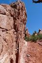 Free Desert Red Rock Wall Stock Photo - 14047910