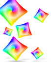 Free Abstract Colorful Pillows Stock Image - 14049251