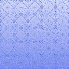 Seamless Ornamental Wallpaper Stock Images