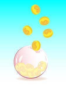 Free Soap Bubble Piggy Bank Stock Photos - 14041203
