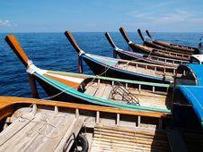 Taxi Boats Stock Photo