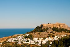 Free Greek Village Stock Photos - 14042163