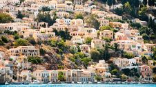 Symi Island Royalty Free Stock Photos