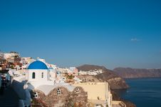 Free Greek Church Stock Photography - 14042302