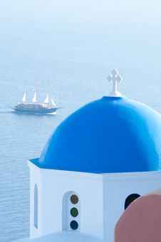 Free Greek Church Stock Photography - 14042362