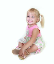 Free Cute Toddler Girl Royalty Free Stock Photography - 14045197
