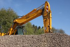 Free Digger At Work Royalty Free Stock Images - 14045329