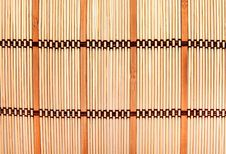 Background In The Form Of A Straw Mat