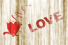 Free Love Card Royalty Free Stock Photography - 14045567