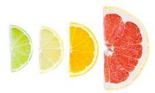 Mixed Citrus Fruit Royalty Free Stock Photos