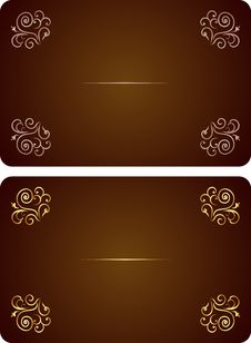 Free Luxury Card Or Invitation Royalty Free Stock Image - 14046146