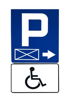 Free Parking Sign Stock Photos - 14047143
