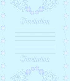 Free Wedding Invitation Royalty Free Stock Photography - 14047247
