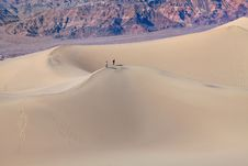 Free Mesquite Flat Sand Dunes, Death Valley Royalty Free Stock Photos - 14047468
