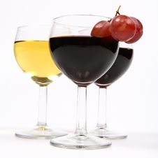 Free Red And White Wine Stock Images - 14047994