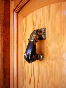 Door Hammer Royalty Free Stock Images